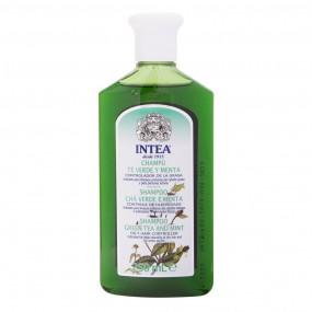 Shampoo Intea® TÈ VERDE e MENTA Speciale per capelli grassi